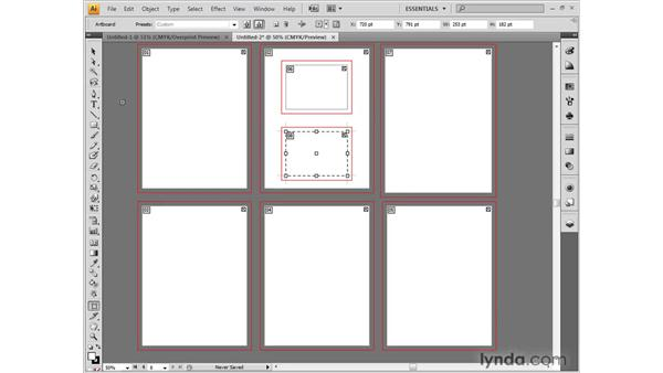 Accepting artboard changes: Illustrator CS4 One-on-One: Fundamentals