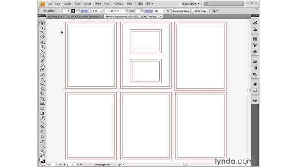 Closing a document: Illustrator CS4 One-on-One: Fundamentals