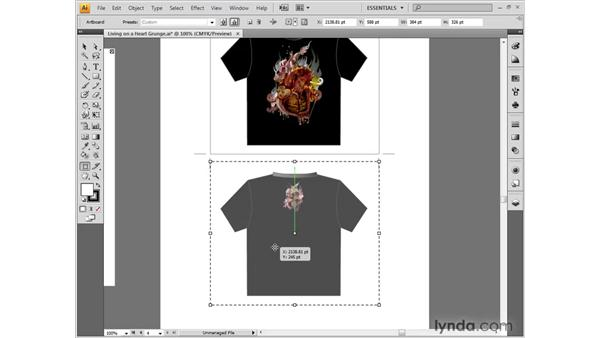 Modifying an illustration: Illustrator CS4 One-on-One: Fundamentals