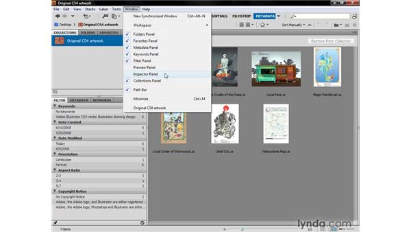 Customizing a workspace: Illustrator CS4 One-on-One: Fundamentals