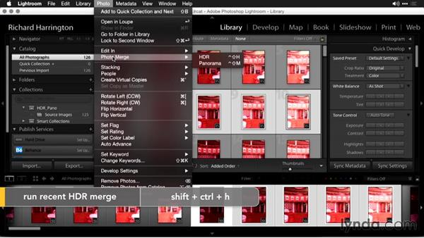 Merging HDR files in Lightroom: Using Panoramic Photos for Motion Graphics and Visual Effects