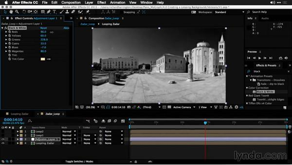 Adding design elements to the loop: Using Panoramic Photos for Motion Graphics and Visual Effects