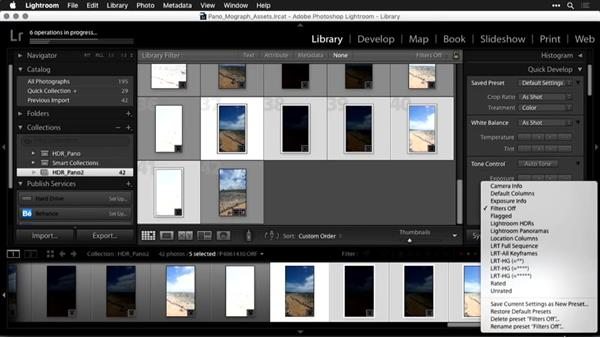 Building the environment in HDR with Lightroom: Using Panoramic Photos for Motion Graphics and Visual Effects