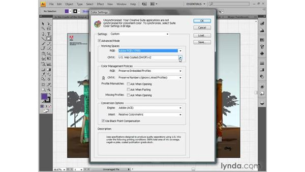 Best workflow color settings: Illustrator CS4 One-on-One: Fundamentals