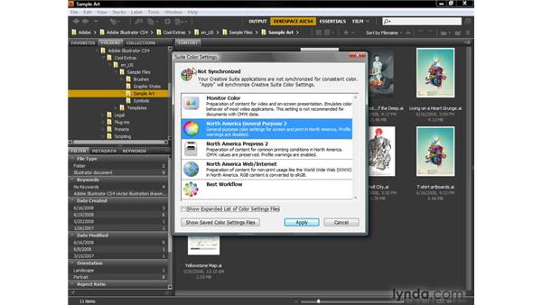 Synchronizing settings across CS4: Illustrator CS4 One-on-One: Fundamentals