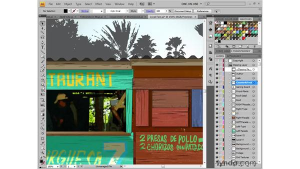 Zooming and panning: Illustrator CS4 One-on-One: Fundamentals