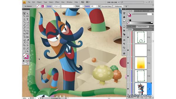 Cycling between screen modes: Illustrator CS4 One-on-One: Fundamentals