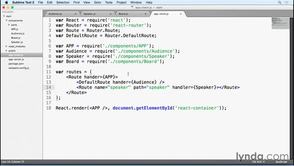 Setting up the React router: Building a Polling App with Socket IO and React.js