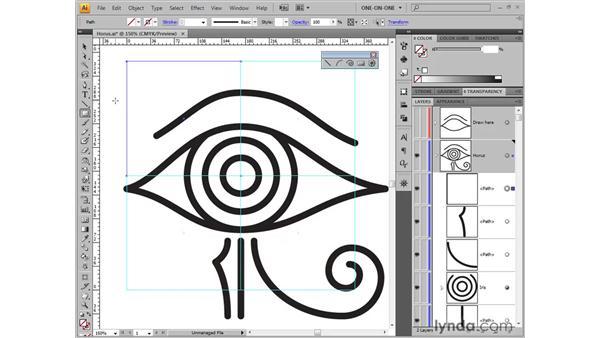 Creating custom guides: Illustrator CS4 One-on-One: Fundamentals
