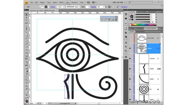 Snap-to points: Illustrator CS4 One-on-One: Fundamentals