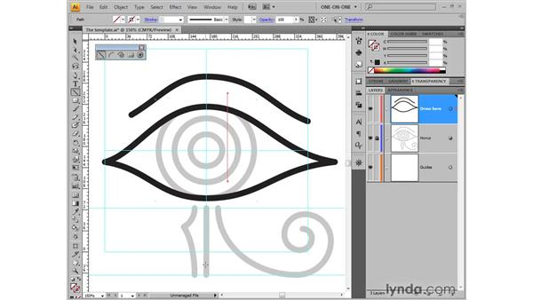 Drawing a line segment: Illustrator CS4 One-on-One: Fundamentals