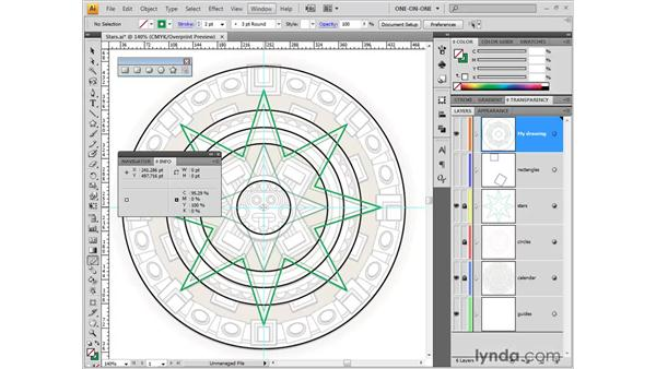 Using the Measure tool: Illustrator CS4 One-on-One: Fundamentals
