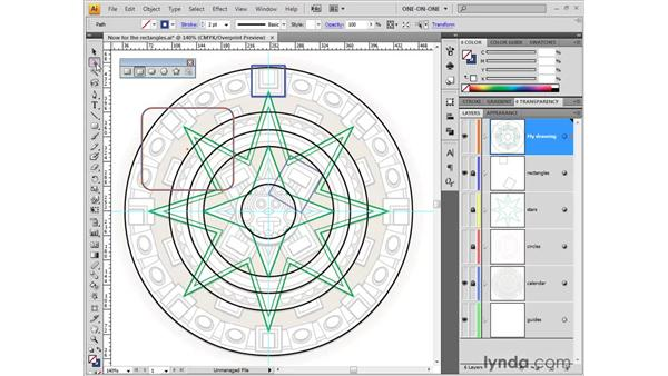 Rectangles and rounded rectangles: Illustrator CS4 One-on-One: Fundamentals