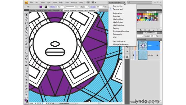 Industry-standard colors: Illustrator CS4 One-on-One: Fundamentals