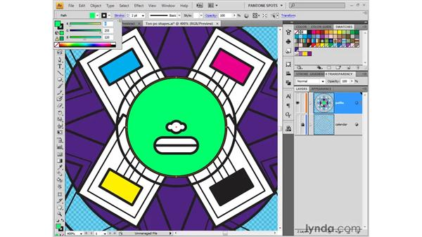 Using RGB for the web: Illustrator CS4 One-on-One: Fundamentals
