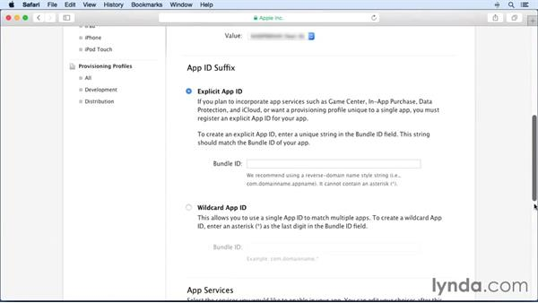 Creating device IDs and profiles: Building and Distributing a Simple App with Xcode and Swift