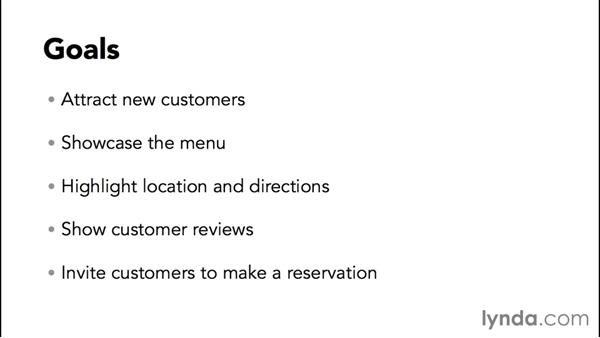 Establishing needs and goals for the site: WordPress and Genesis DIY: Restaurant Website