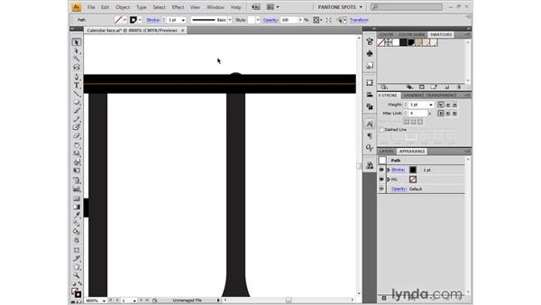 Fixing strokes and isolating edits: Illustrator CS4 One-on-One: Fundamentals