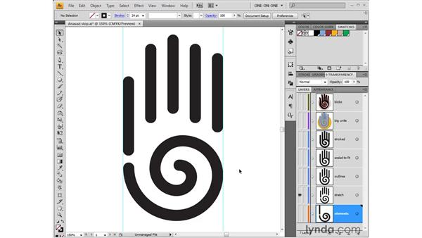 From primitive to polished art: Illustrator CS4 One-on-One: Fundamentals