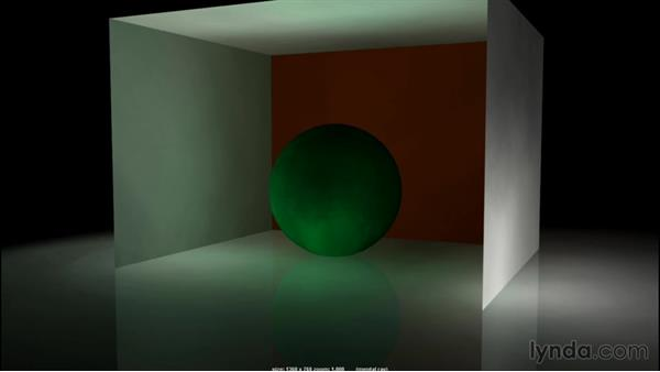 Indirect and bounce light: Introduction to 3D