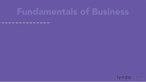 Welcome: Business Fundamentals