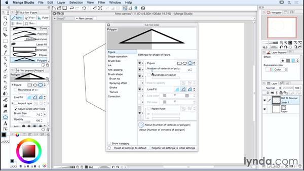 Using the Direct Draw tool: Manga Studio Essential Training