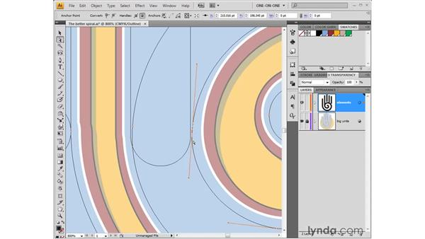 Modifying, aligning, and uniting paths: Illustrator CS4 One-on-One: Fundamentals