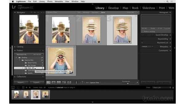 Cleaning up an unorganized catalog: Exploring Lightroom: Managing Photo Catalogs