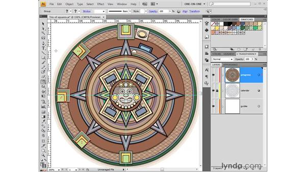 Using the Reflect tool: Illustrator CS4 One-on-One: Fundamentals