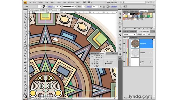 Rotating by the numbers: Illustrator CS4 One-on-One: Fundamentals