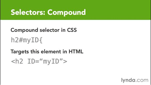 Working with more advanced compound selectors: CSS for EPUB