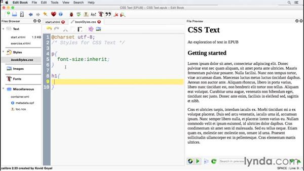 Working with sizing: CSS for EPUB