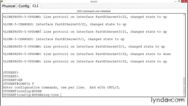 Configuring per-VLAN STP: CCNA ICND2 Essential Training