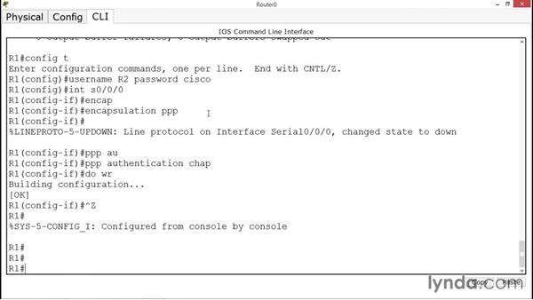 Configuring PPP: CCNA ICND2 Essential Training