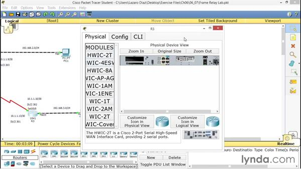 Configuring frame relay: CCNA ICND2 Essential Training
