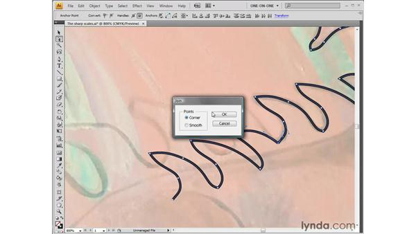 Replicating and reshaping segments: Illustrator CS4 One-on-One: Fundamentals