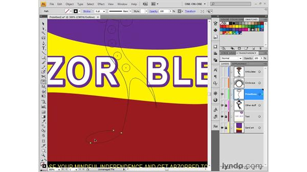 Snip and Spin: Illustrator CS4 One-on-One: Fundamentals