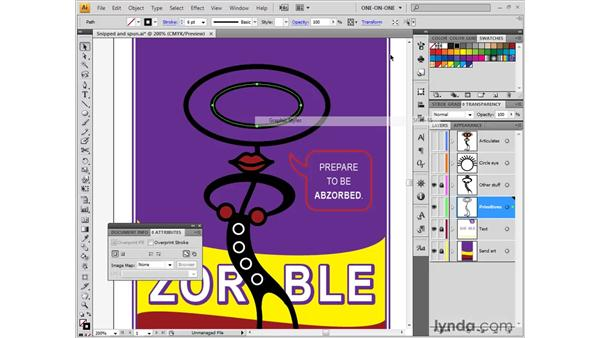 Adding a center point: Illustrator CS4 One-on-One: Fundamentals