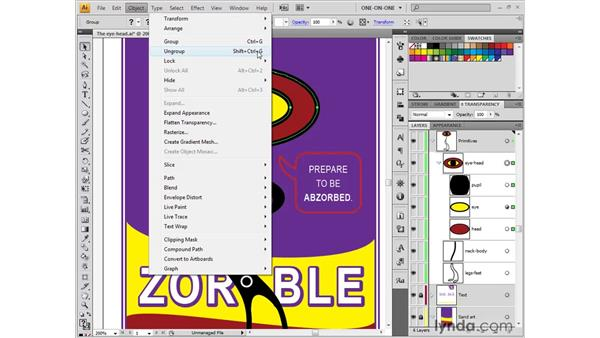 Saving and recalling selections: Illustrator CS4 One-on-One: Fundamentals
