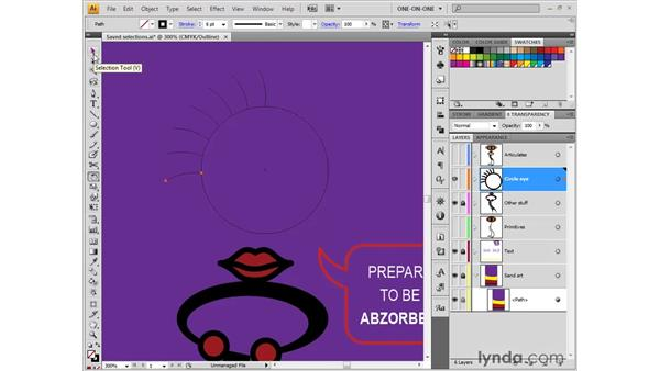 Rotating is a circular operation: Illustrator CS4 One-on-One: Fundamentals