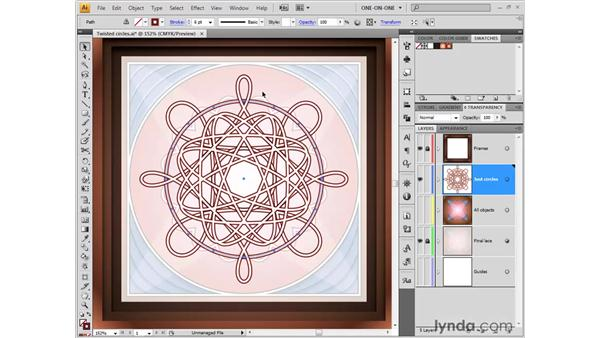Scalloped edges with Pucker & Bloat: Illustrator CS4 One-on-One: Fundamentals