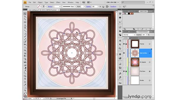 Expand before you merge: Illustrator CS4 One-on-One: Fundamentals