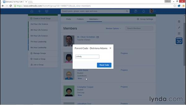Managing parent accounts: Up and Running with Edmodo