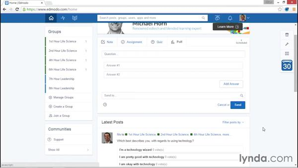 Polls: Up and Running with Edmodo