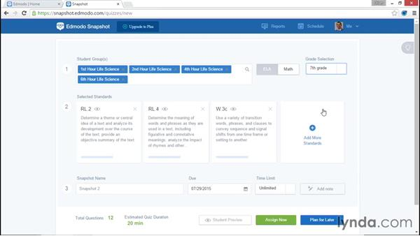 Snapshots: Up and Running with Edmodo