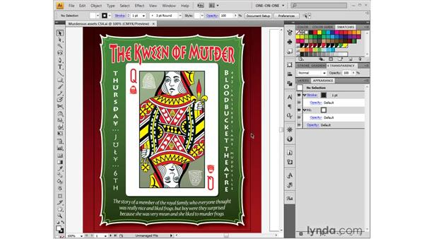 Setting trim size and bleed: Illustrator CS4 One-on-One: Fundamentals