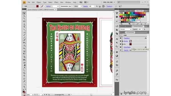 Creating custom dynamic crop marks: Illustrator CS4 One-on-One: Fundamentals