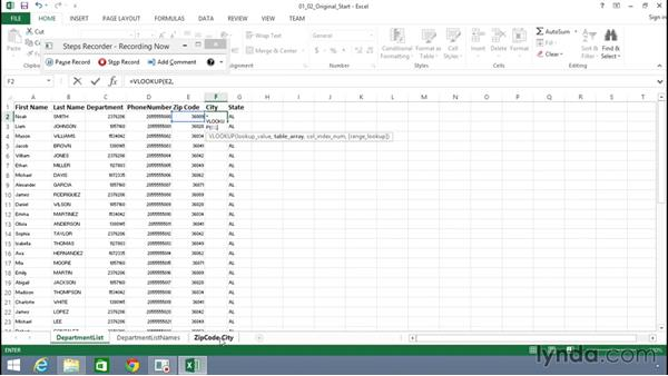 Using the Problem Step Recorder: Building Solutions Using Excel 2013 and Access 2013 Together