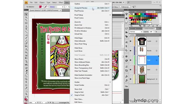 Working with the Separations Preview palette: Illustrator CS4 One-on-One: Fundamentals