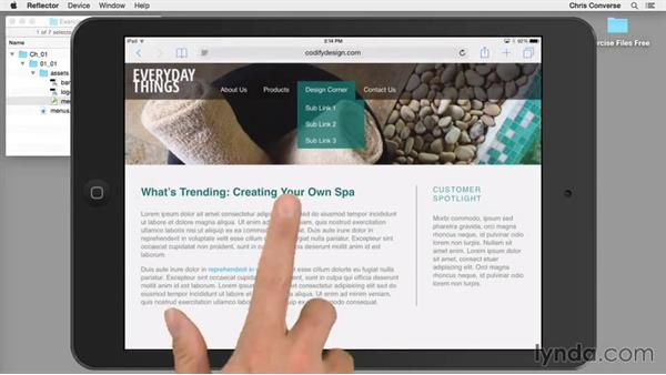 Welcome: Design the Web: Creating CSS-Only Navigation Menus